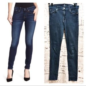 7 For All Mankind High Rise Gwenevere Skinny Jeans